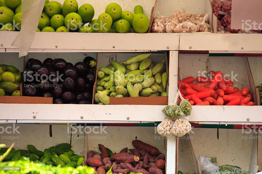 Fruits & vegetables stock photo