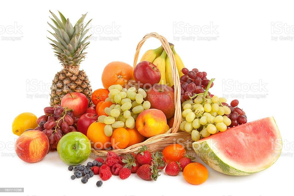 Fruits Arrangement royalty-free stock photo