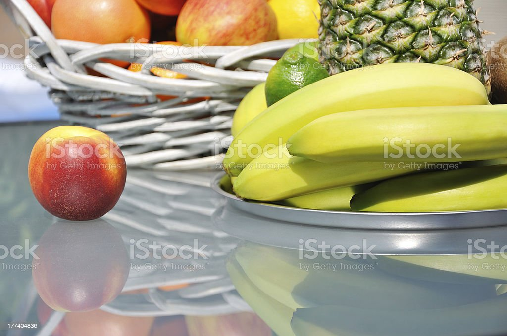 Fruits arrangement royalty-free stock photo