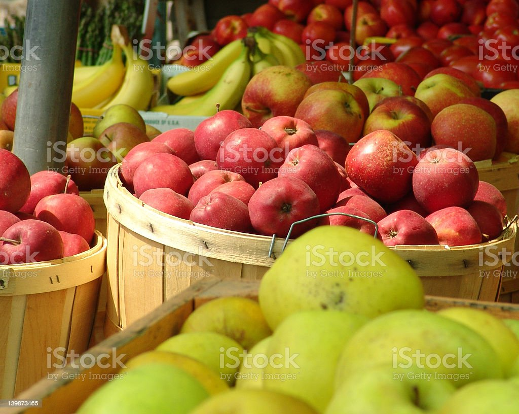 Fruits At The Market Place royalty-free stock photo