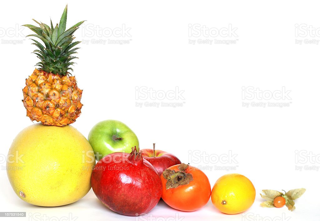 fruits corner stock photo