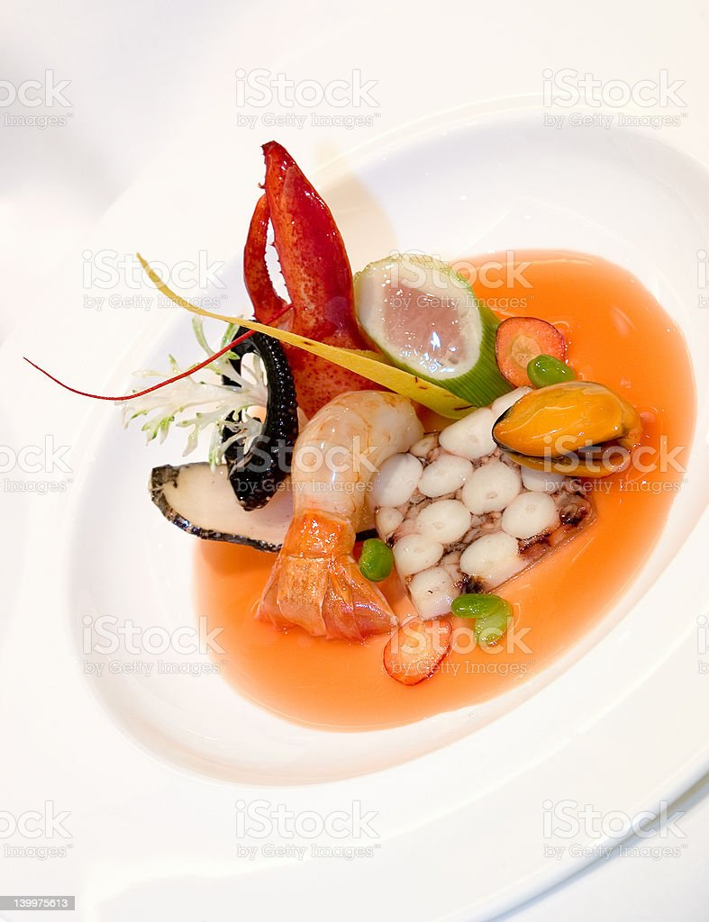 Fruits de Mer royalty-free stock photo