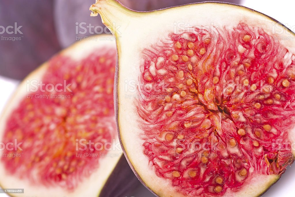 Fruits figs close-up royalty-free stock photo