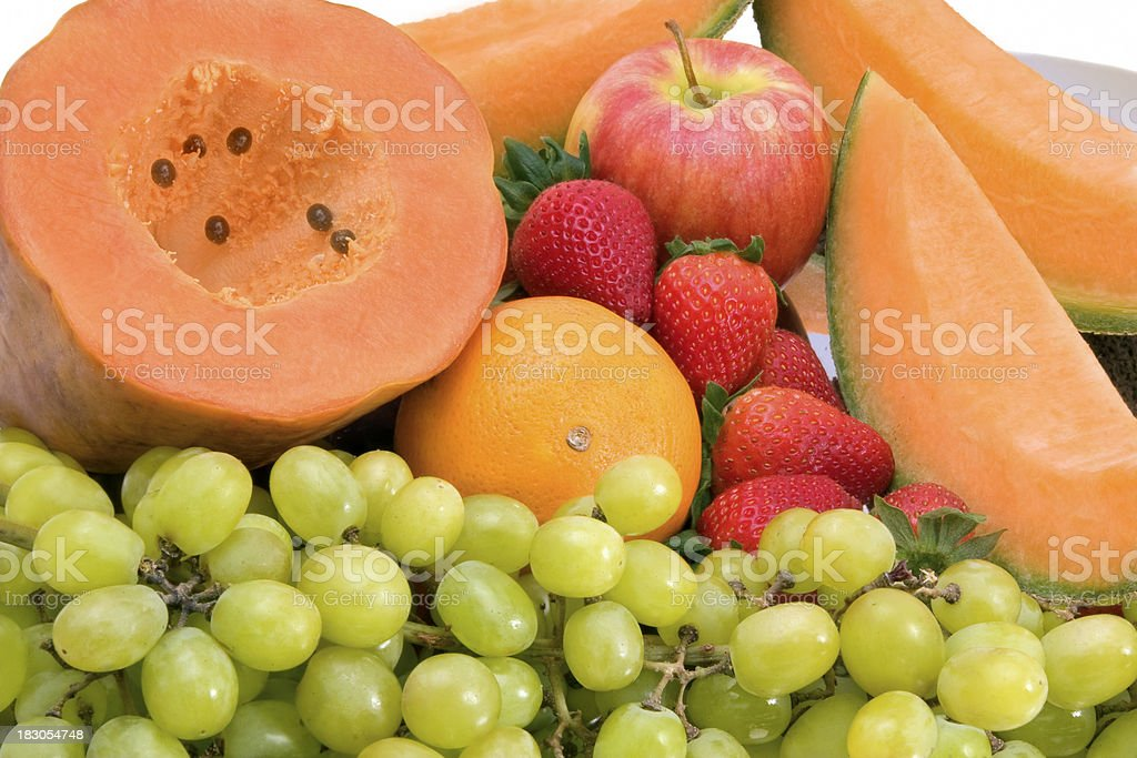 fruits for breakfast royalty-free stock photo