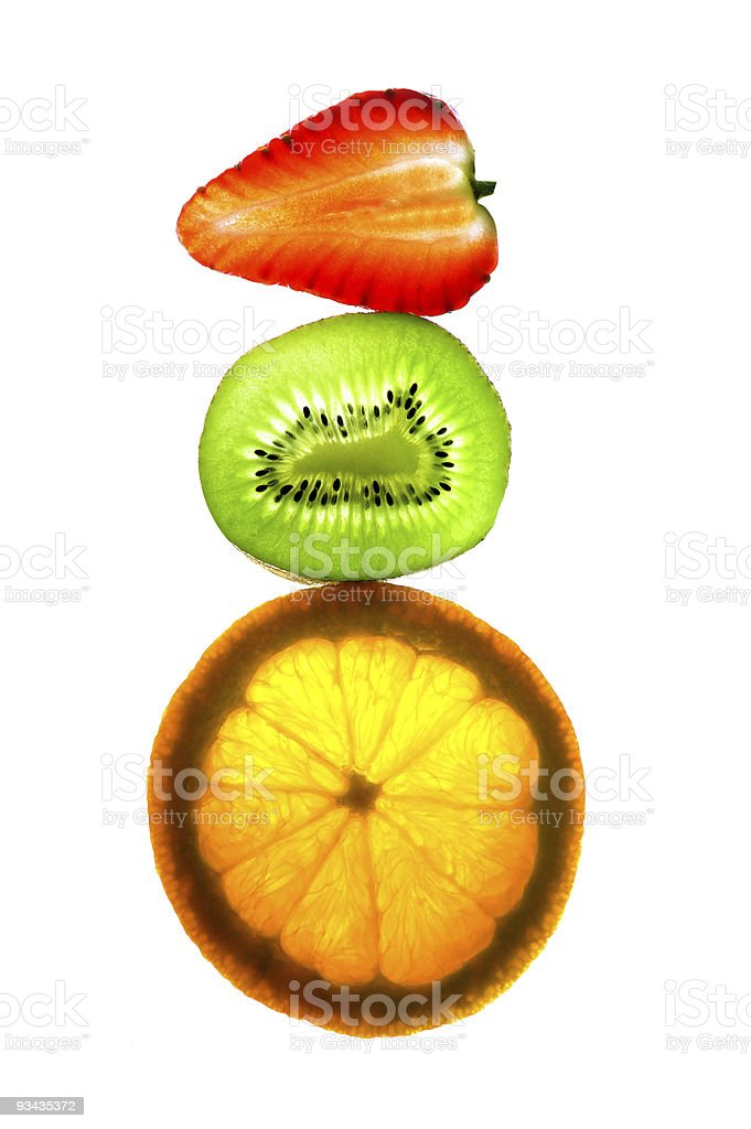 Fruits in balance royalty-free stock photo