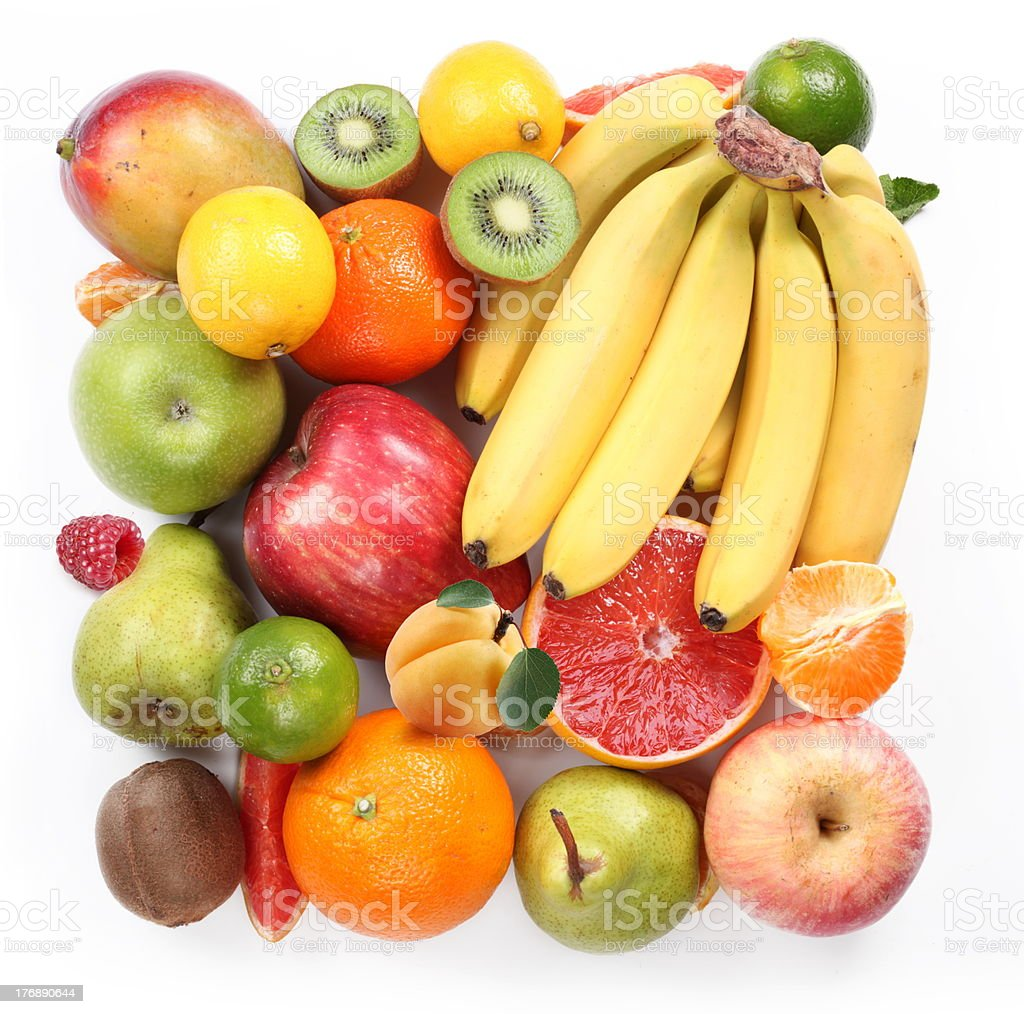 fruits in the form of a square royalty-free stock photo