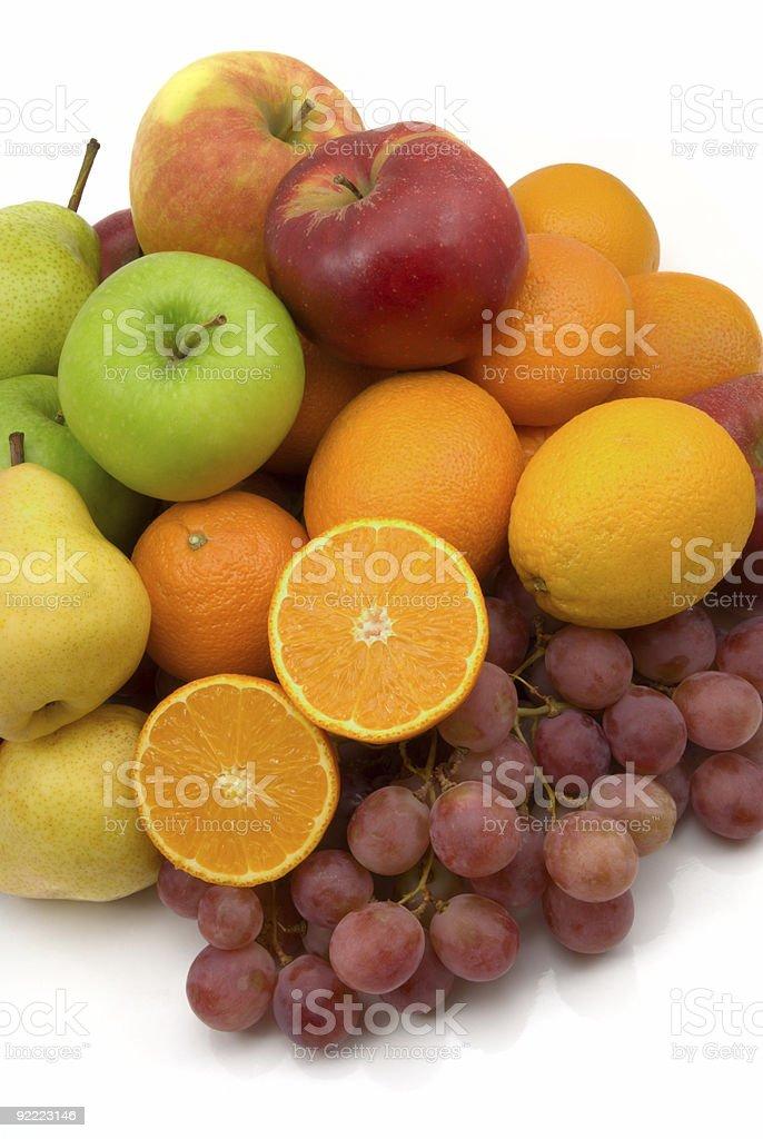 fruits isolated royalty-free stock photo