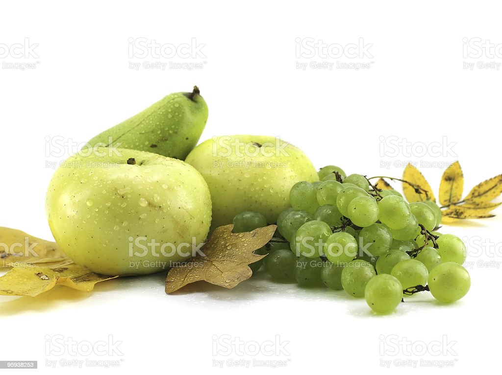 Fruits isolated royalty-free stock photo