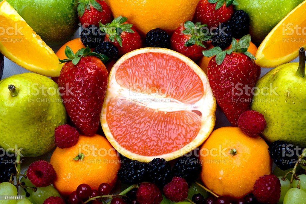 Fruits Mix royalty-free stock photo