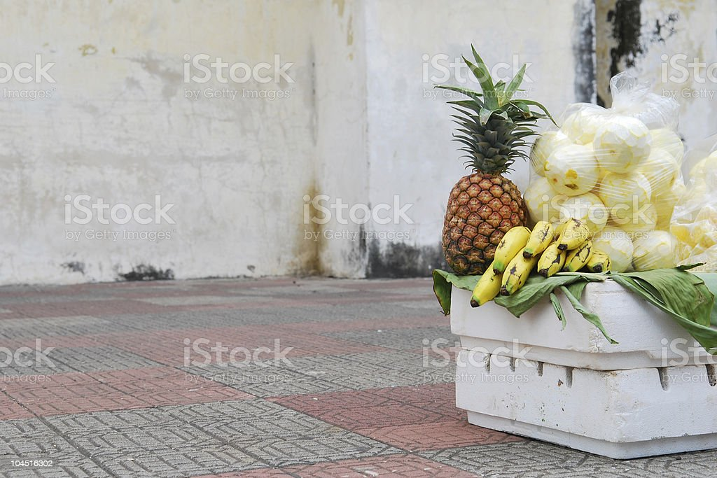 Fruits of Central America - Leon Nicaragua stock photo