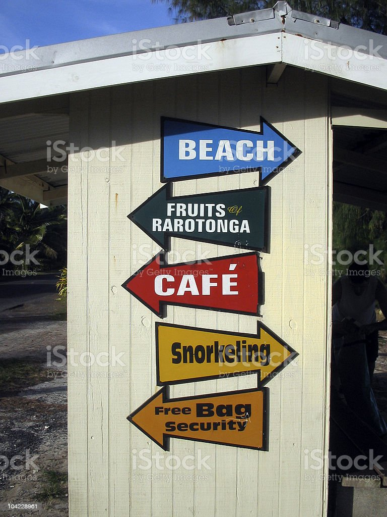 Fruits of Rarotonga Snorkeling stock photo