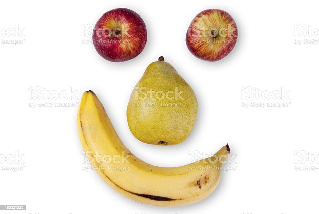 Frutas de sorrizas royalty-free stock photo