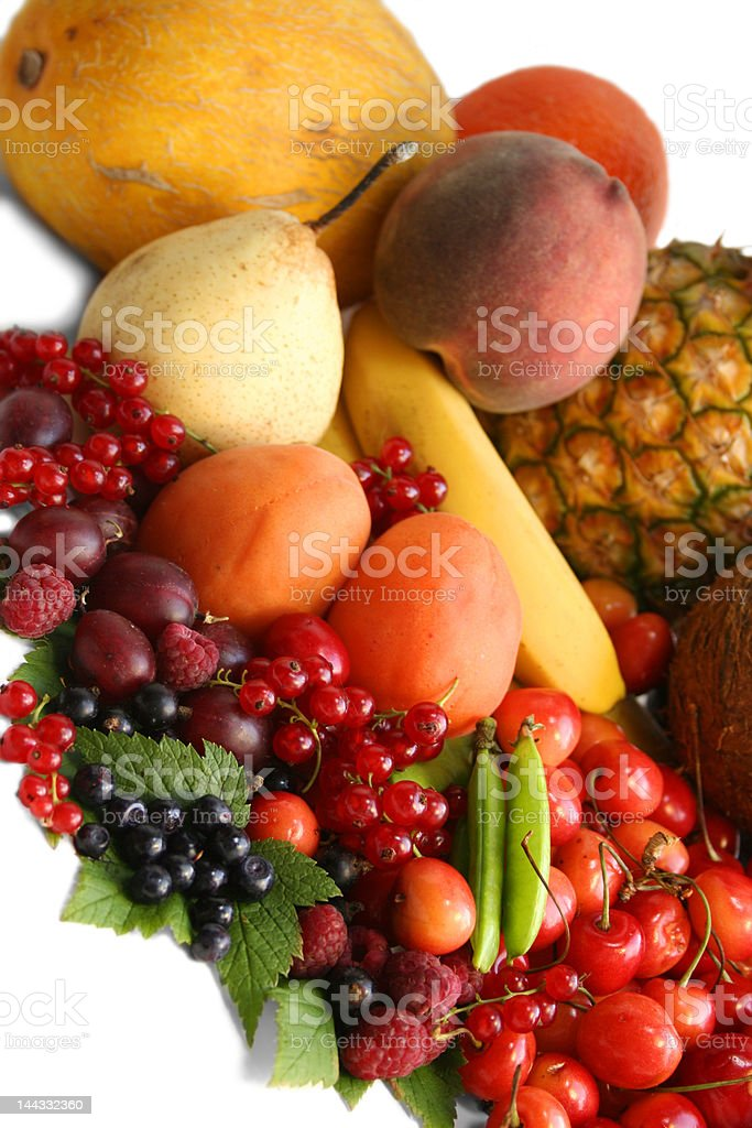 Fruits on the table. Still life royalty-free stock photo