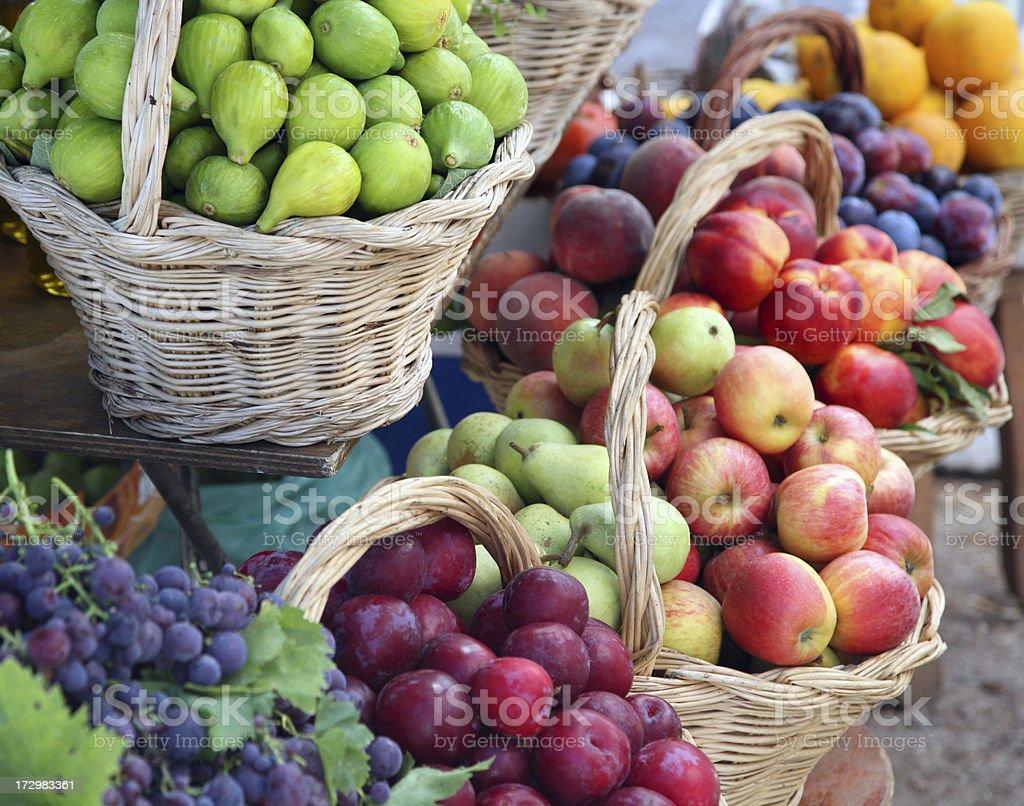 Fruits open bazaar royalty-free stock photo