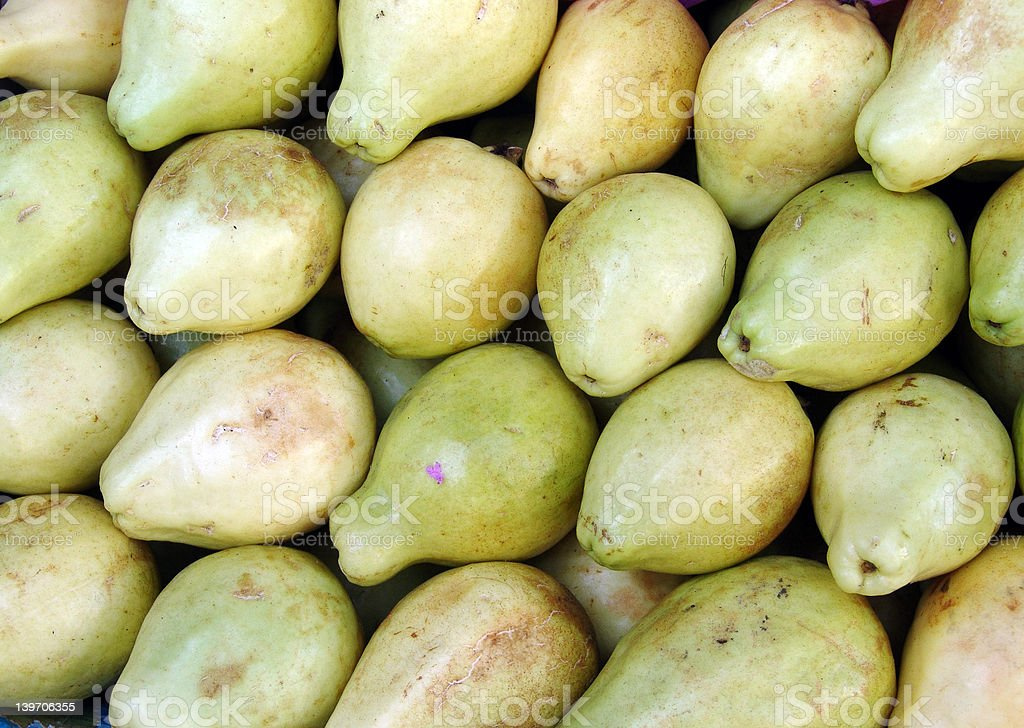 Fruits - pears royalty-free stock photo