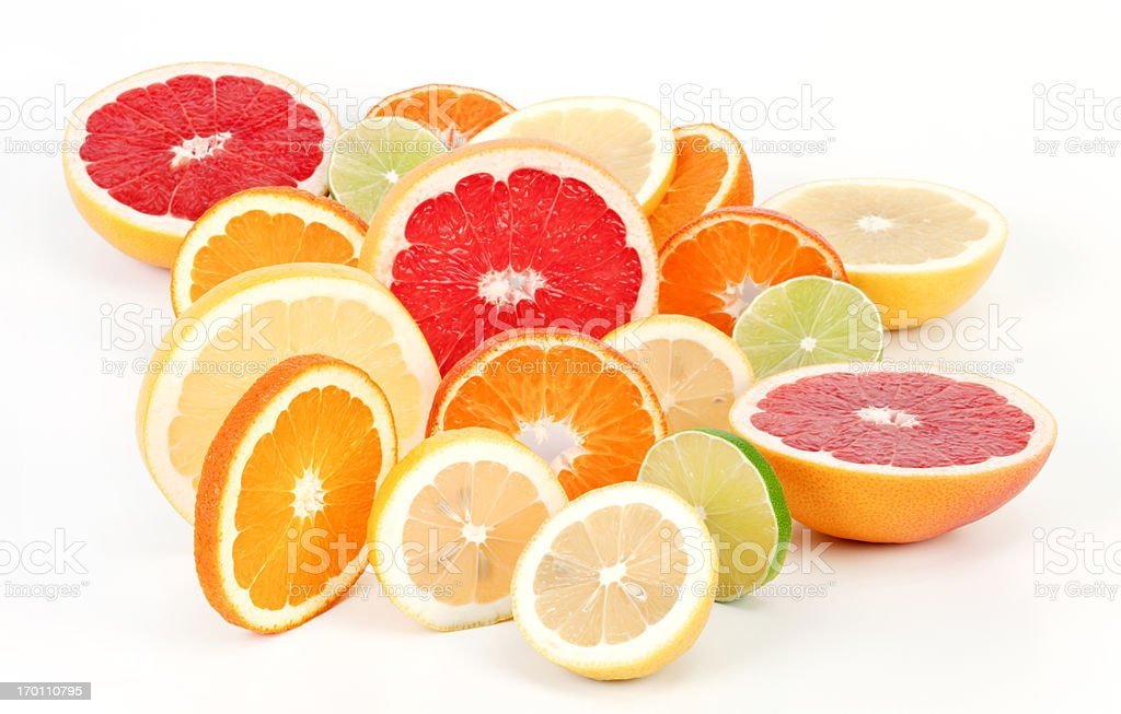 Fruits slices royalty-free stock photo