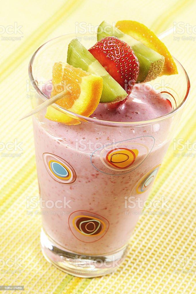 Fruits smoothie stock photo