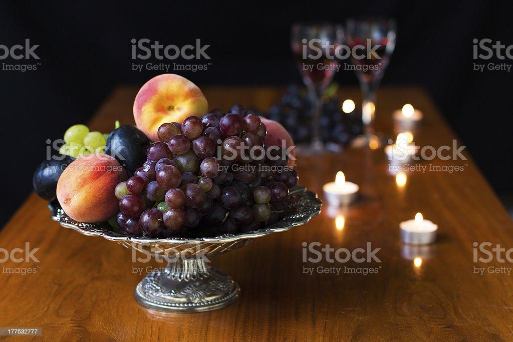 Fruits still life royalty-free stock photo