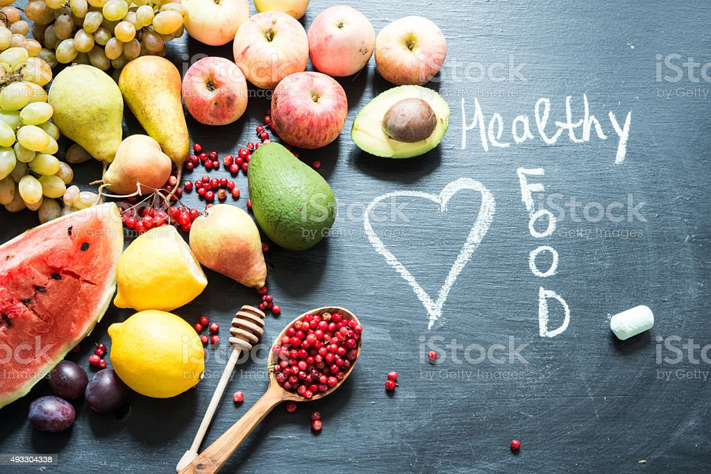 Fruits/Healthy food stock photo