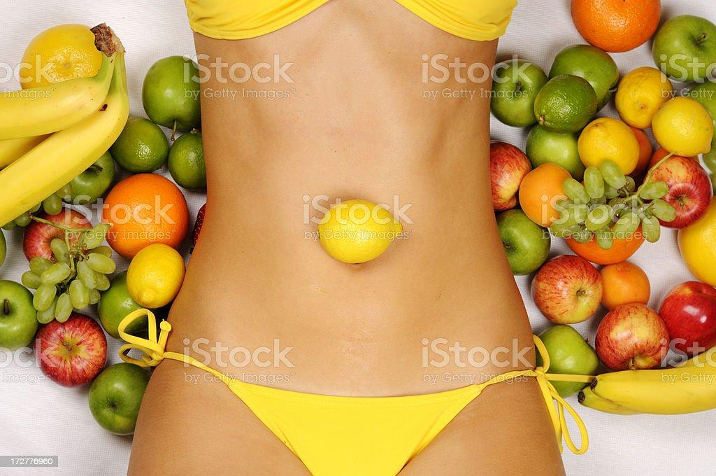 Fruity Beauty stock photo