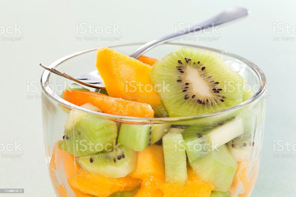 Fruity Breakfast royalty-free stock photo