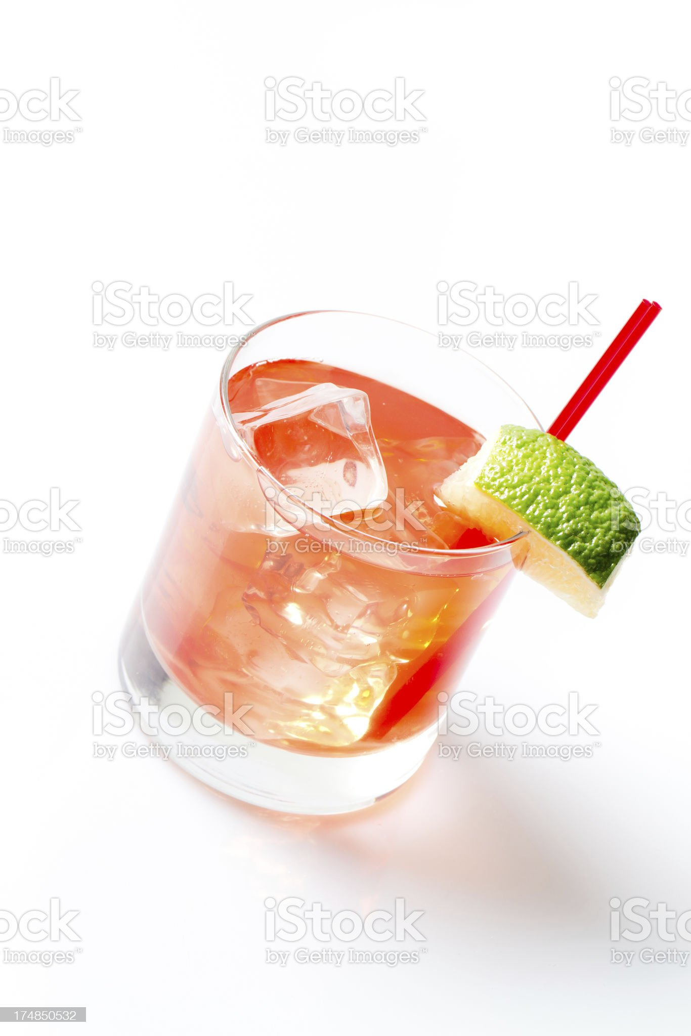 Fruity Cocktail royalty-free stock photo