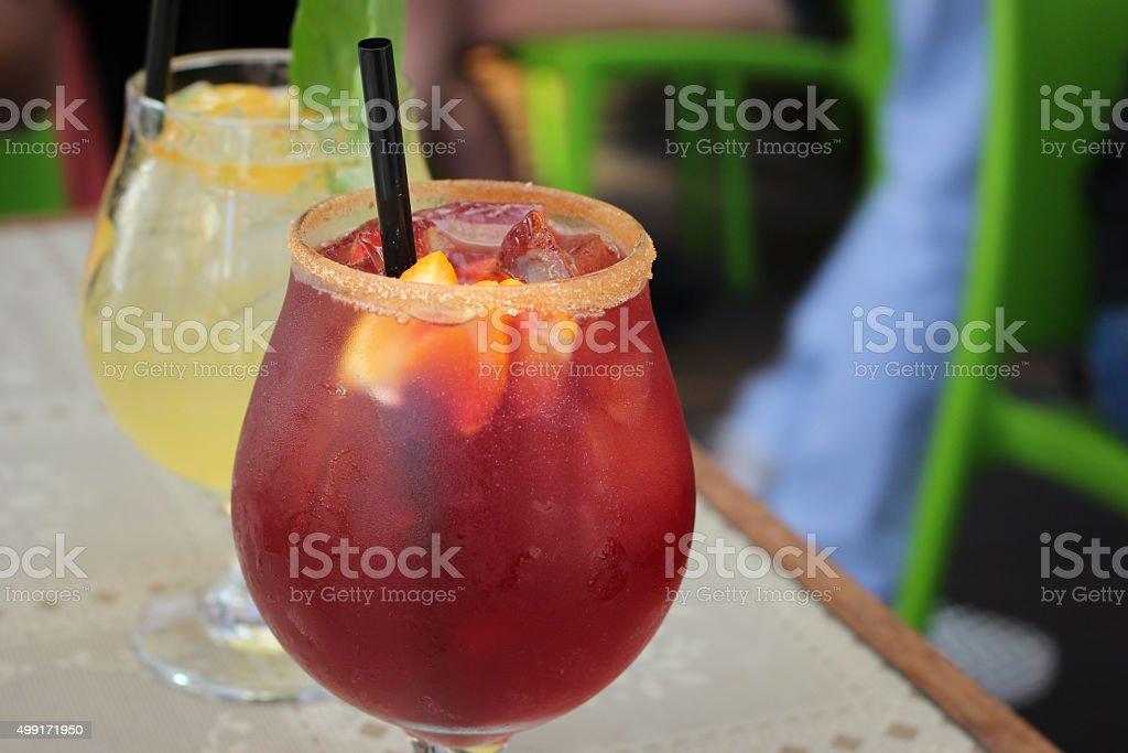 Fruity Drink stock photo