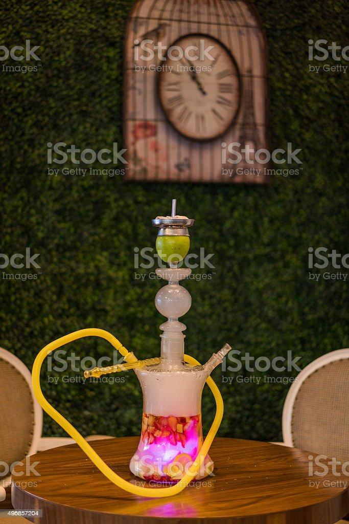 fruity hookah stock photo