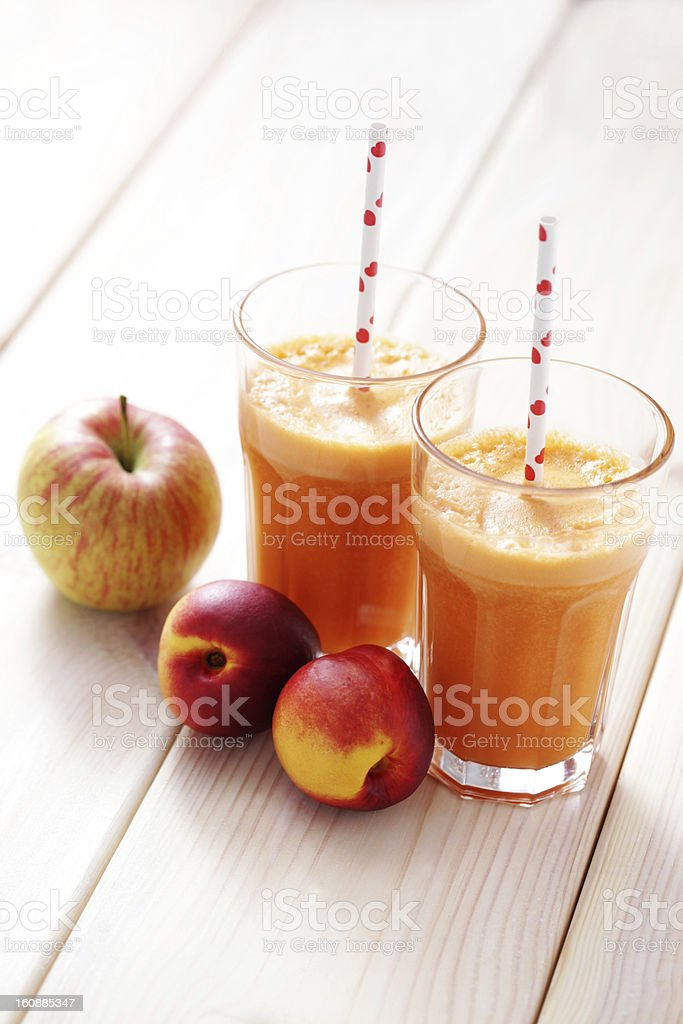 fruity juice royalty-free stock photo