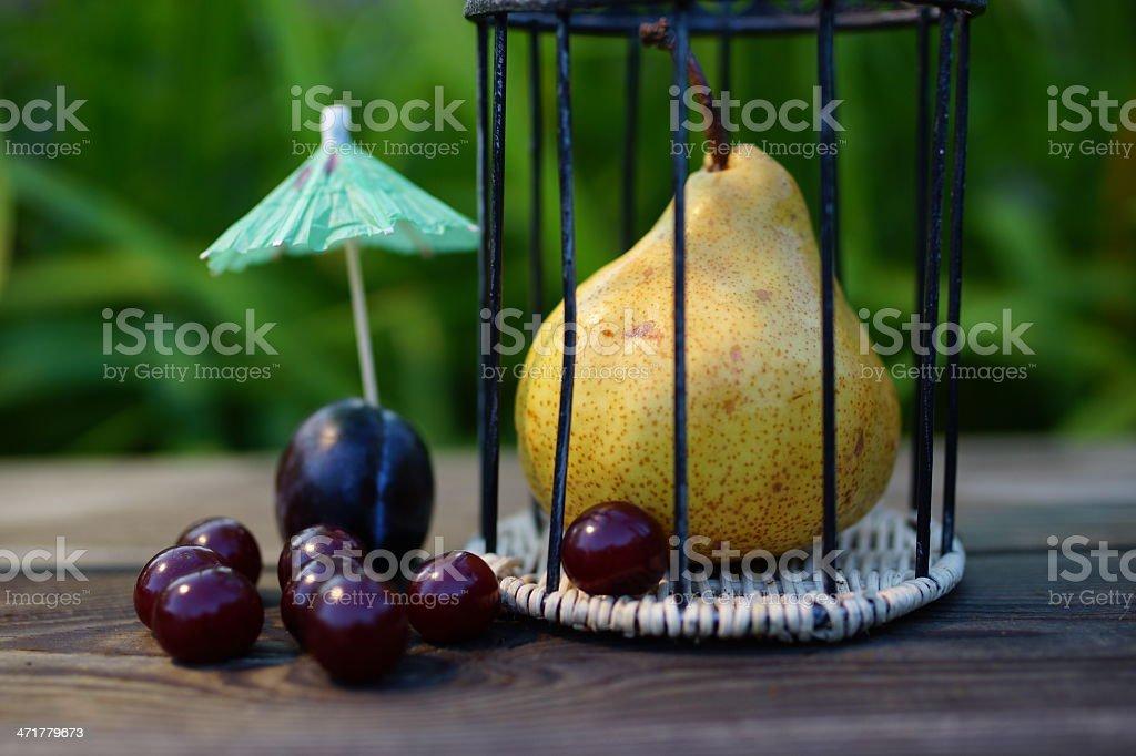 Fruity park stock photo