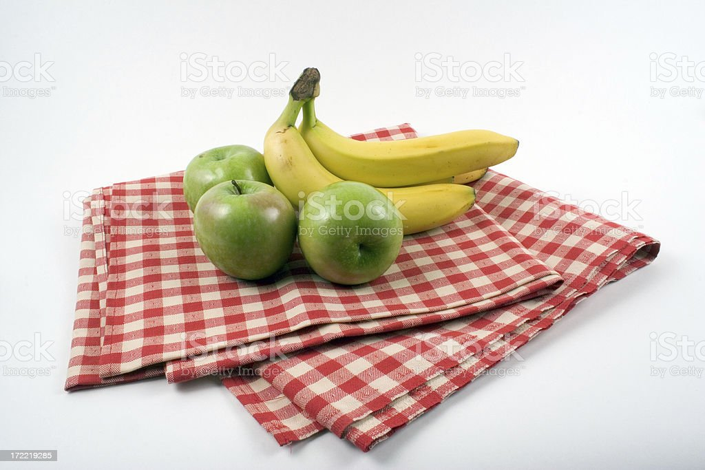 Fruity Picnic Spread stock photo