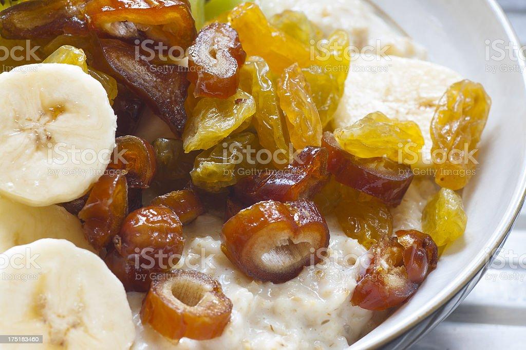 Fruity Porridge royalty-free stock photo