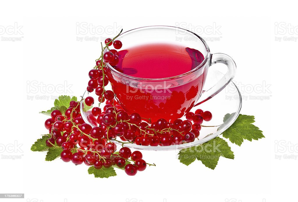 Fruity Tea royalty-free stock photo