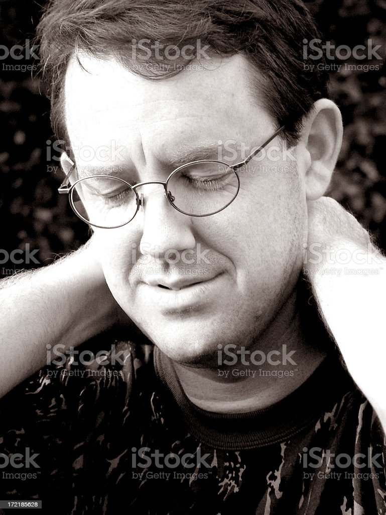 frustrated royalty-free stock photo