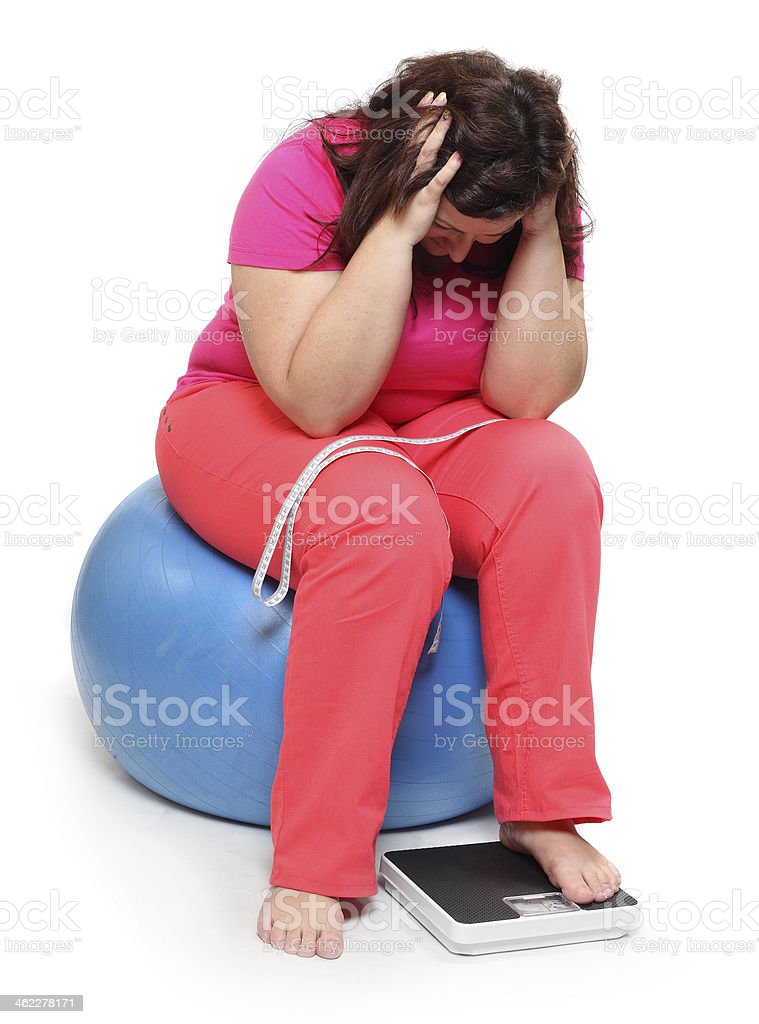 Frustrated woman. stock photo