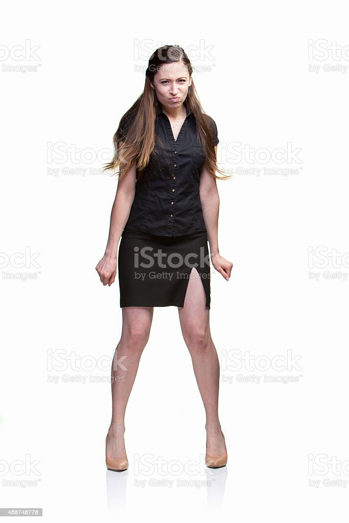 Frustrated Woman stock photo