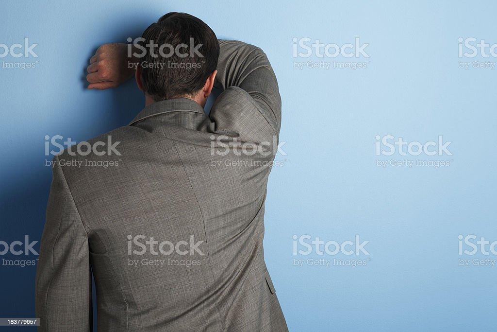Frustration or Despair stock photo