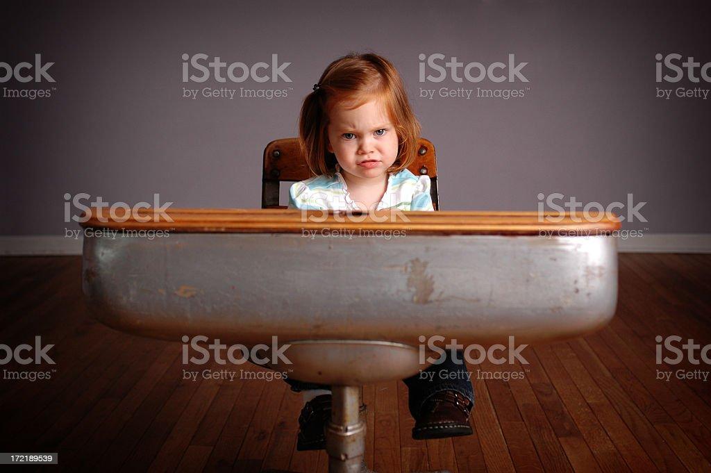 Frustration royalty-free stock photo