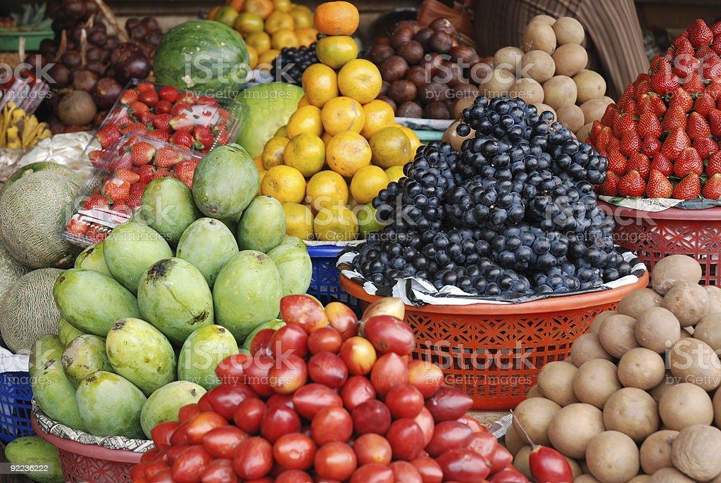 frutta indonesiana royalty-free stock photo