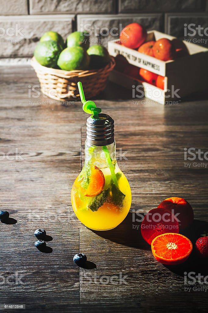 Fruty Mojito. stock photo