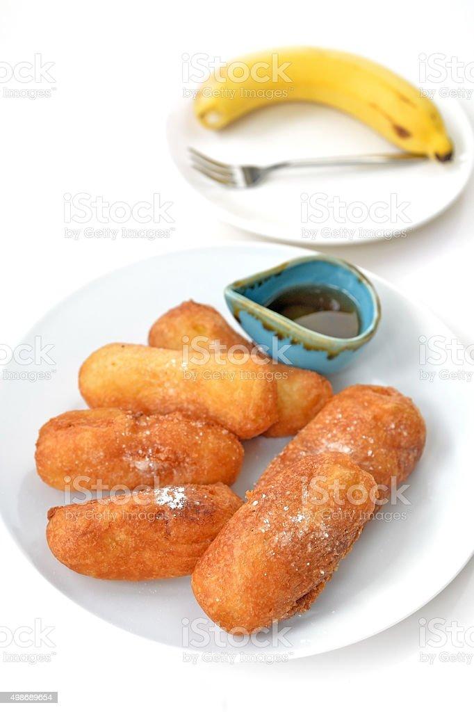 Fry Banana stock photo