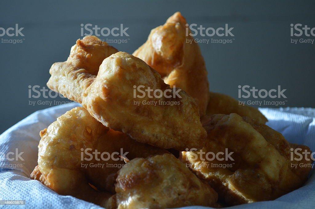 fry bread (bannock) stock photo