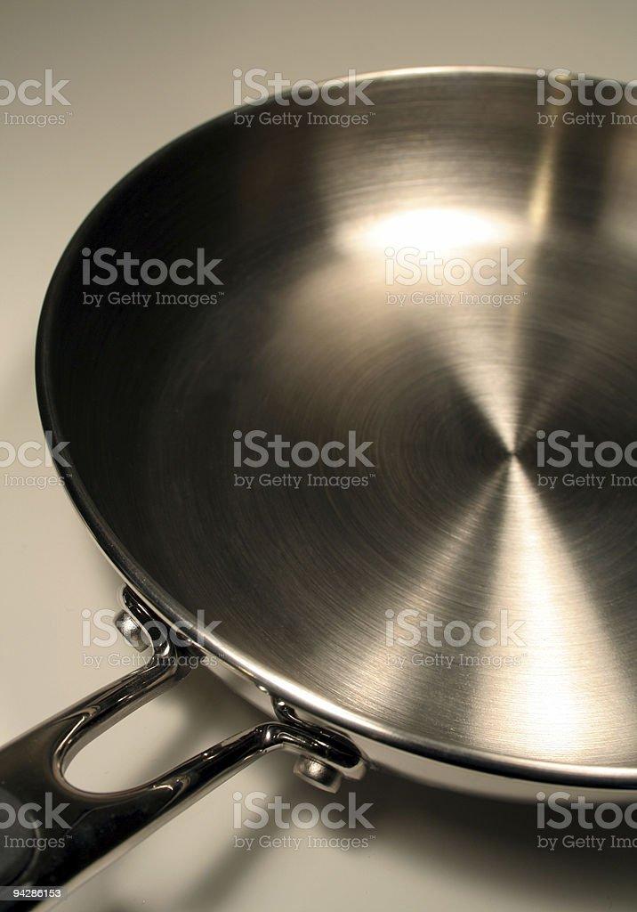 Frying Pan Base royalty-free stock photo