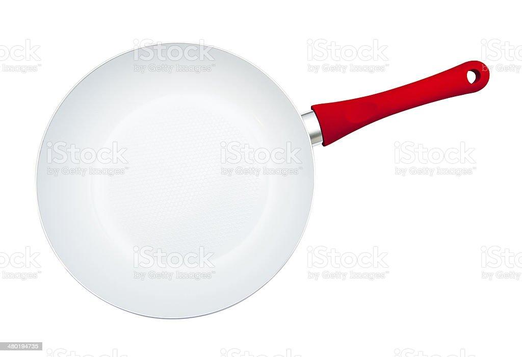 Frying pan stock photo