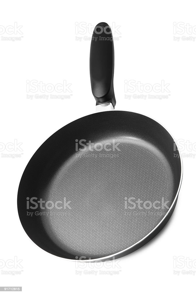 Frying pan royalty-free stock photo