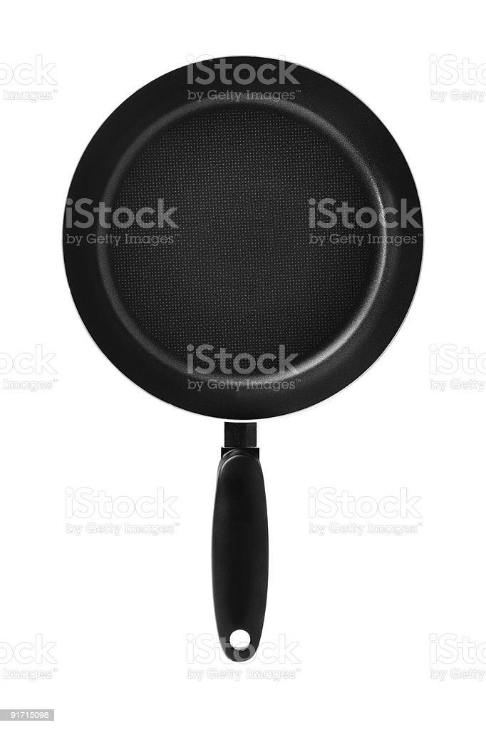 Frying pan royalty-free stock photo