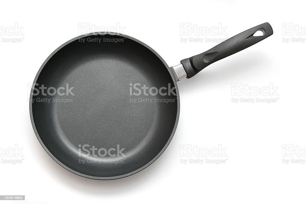 Frying pan, skillet royalty-free stock photo