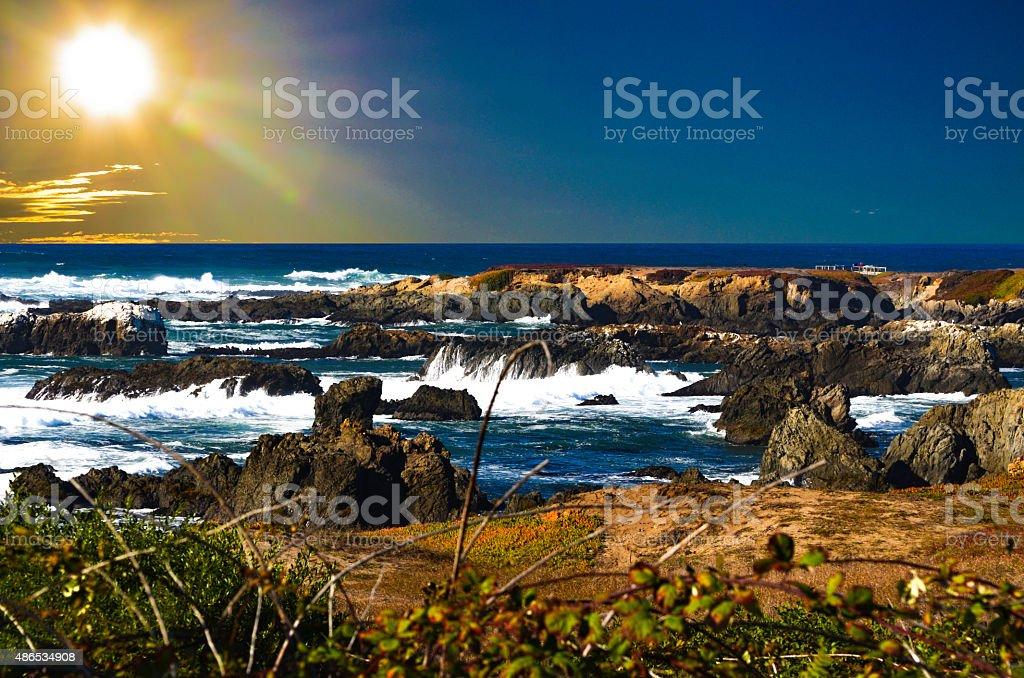 Ft. Bragg California stock photo