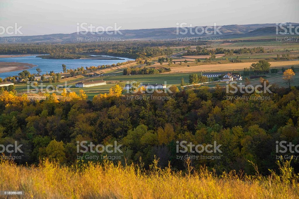 Ft. Lincoln, North Dakota stock photo