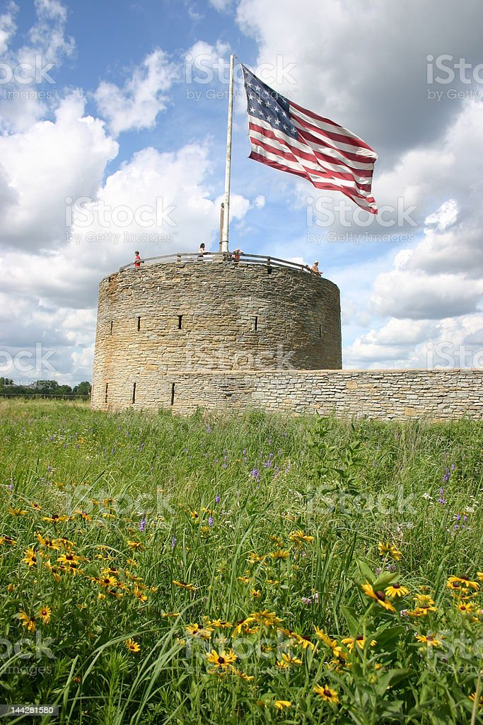Ft. Snelling royalty-free stock photo
